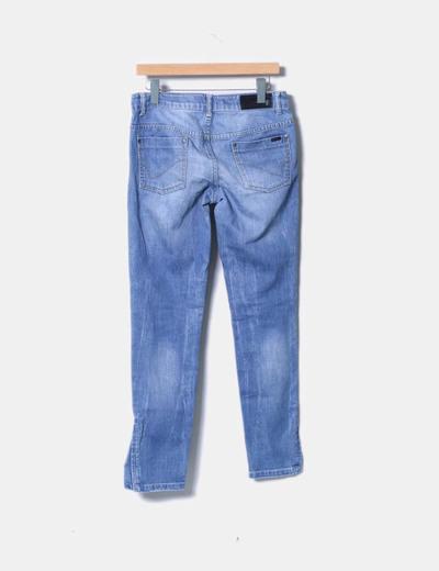 Jeans azul recto