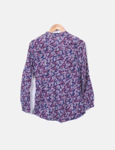 48e49d6a56 Dorada Camisa manga larga estampado cachemira (descuento 86%) - Micolet