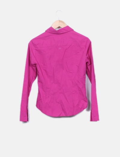 Camisa basic fucsia