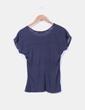 Camiseta navy combinada Shana