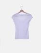 Camiseta blanca lisa Bershka