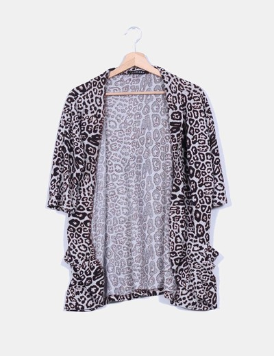 Cardigan animal print Dandara