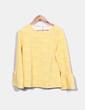 Blusa texturizada amarilla Savida