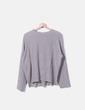 Jersey fruncido gris Zara