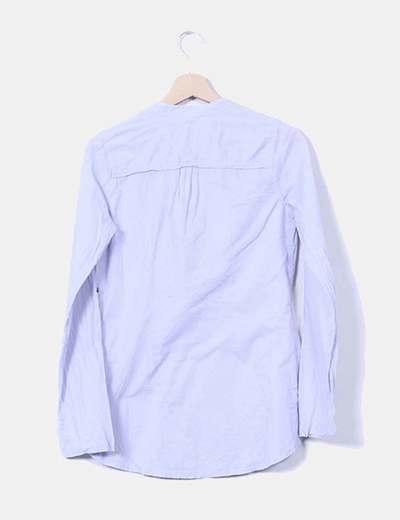 Camisa azul celeste manga larga