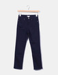 Navy blue stretch trousers H&M