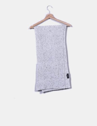 Écharpe grise maxi Zara