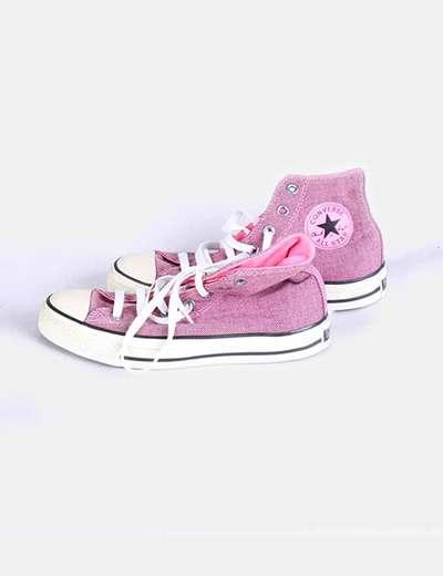 zapatillas converse rosas