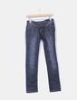 Jeans oscuro pata recta NoName