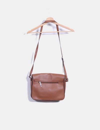 Bolso satchels marron