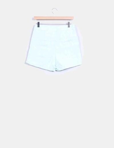 Shorts texturizado verde mint