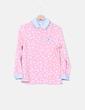 Blusa rosa con lunares blancos Kling
