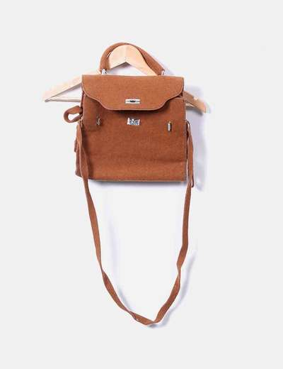 Textured brown bag NoName
