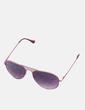 Gafas de sol aviador rosas NoName