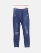 Jeans denim super high waist Stradivarius