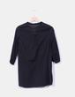 Blusa negra escote bordado An Gel