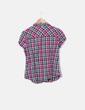 Chemise à carreaux à manches courtes C&A