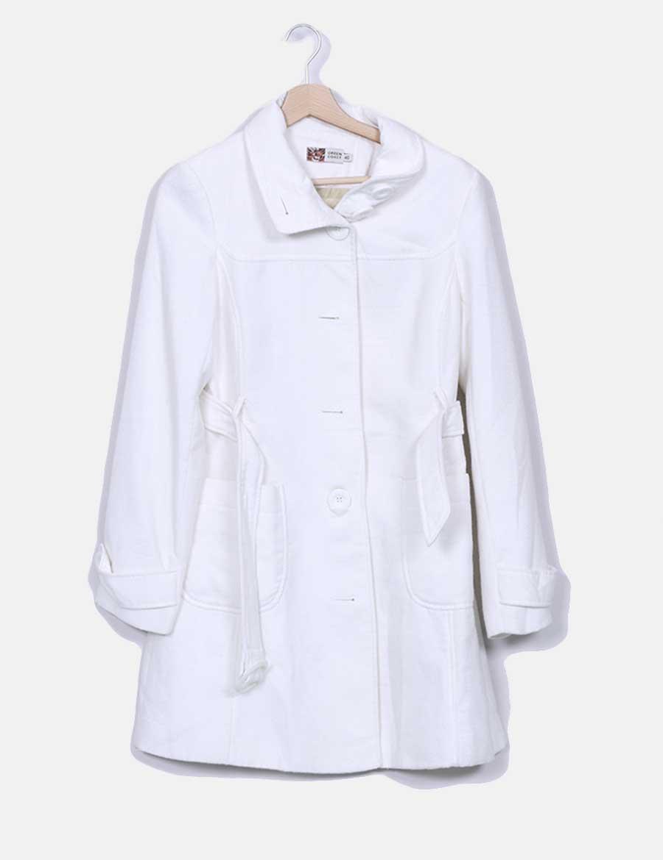11c56773ee online blanco Green largo Mujer Coast Chaquetas Abrigos de Abrigo y baratos  BnAwn ...