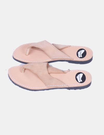 Sandales plates Menorca