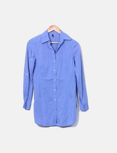 Long blue shirt Benetton