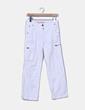 Pantalón blanco pata recta Naf Naf