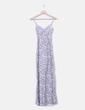 Vestido maxi floral H&M