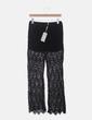 Pantalón crochet negro Mosnova