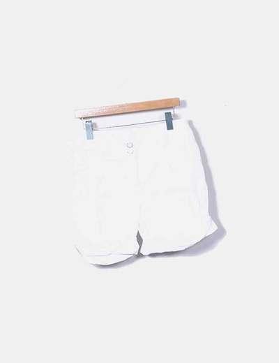 White shorts Mango
