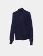 Jersey tricot azul marino Zara
