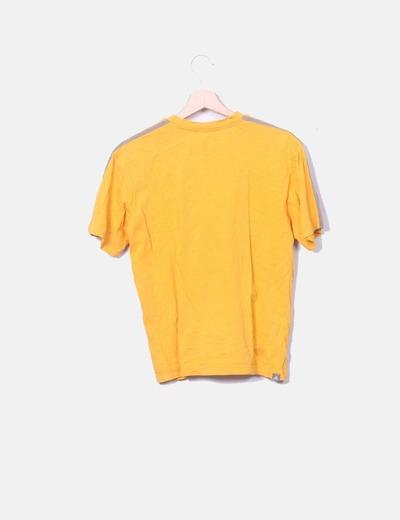 Color Mostaza Camiseta Deportiva Camiseta Deportiva fYv76ybg