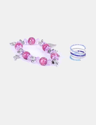 Conjunto de pulsera y anillo NoName