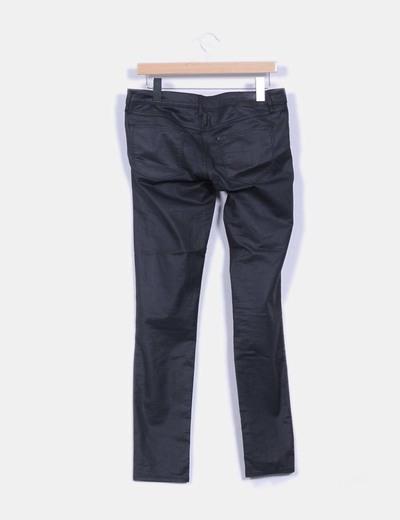 Jean negro encerado