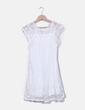 Robe blanche avec en dentelle Ciao Milano