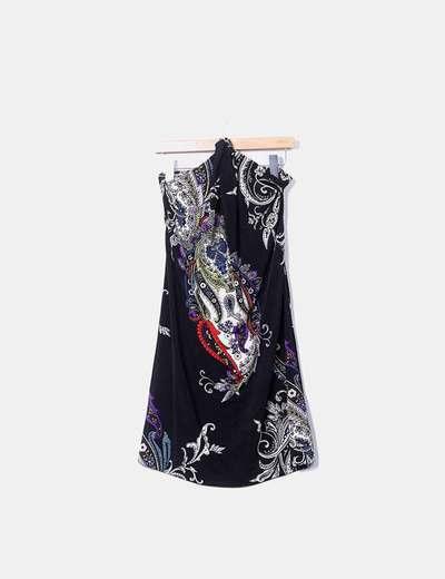 Vestido estampado de cashmere Sinéquanone