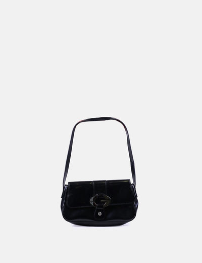 In Borsa Tracolla Guess Vernice Nera Micolet sconto A 79 vHqxxfgTw
