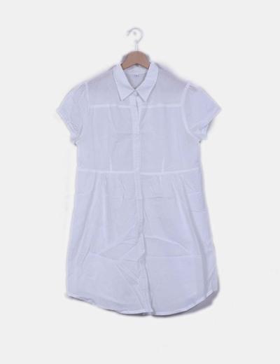 Blusa blanca manga corta NoName