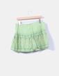 Mini falda verde estampada con lentejuelas NoName
