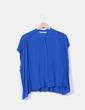 Blusa oversize azul klein Zara