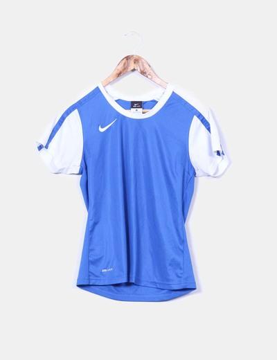 Top bicolor deportivo Nike