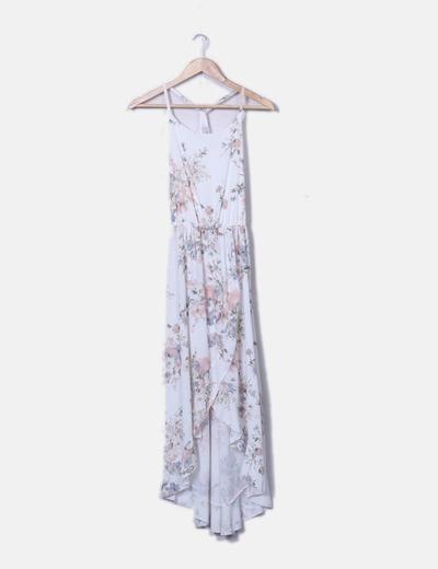 Maxi vestido floreado