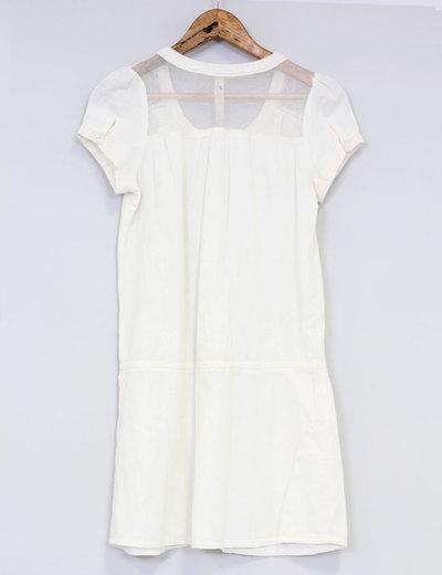2019 mejor venta profesional mejor calificado elige lo último Vestido blanco lino