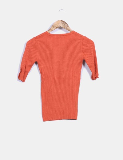 Tricot naranja de canale