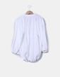 Blusa blanca texturizada Elogy