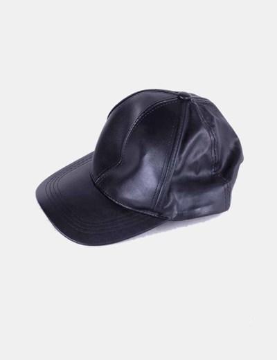 Gorra polipiel negro NoName