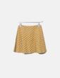 Conjunto top y falda amarillo estampado Shana