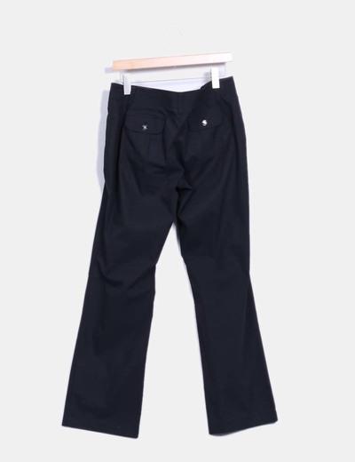 Pantalon negro impermeable