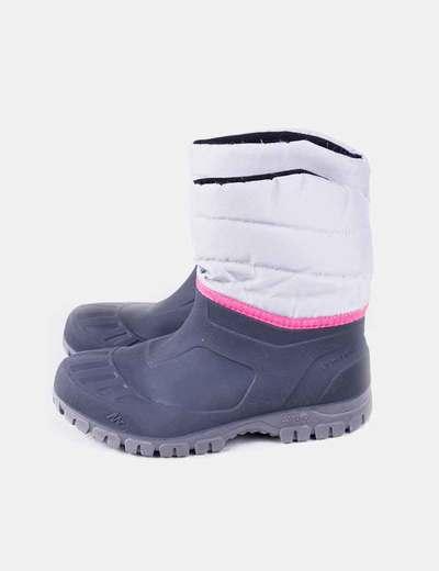 Botas de agua gris Quechua