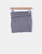 Mini falda ajustada estampado zig-zag bicolor Atmosphere