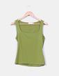 Camiseta verde de licra Zara