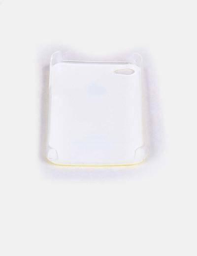 Carcasa iphone 4 amarilla